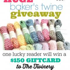 huge bakers twine giveaway | simplykierste.com