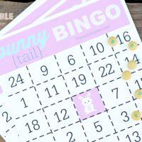 Bunny Tail Bingo {FREE PRINTABLE}