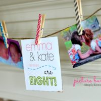 picture bunting | simplykierste.com