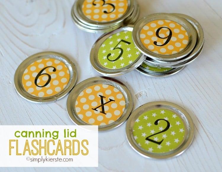 Canning Lid Flashcards | oldsaltfarm.com
