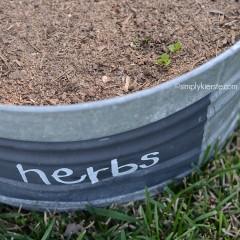 Gro-ables Herb Garden | simplykierste.com