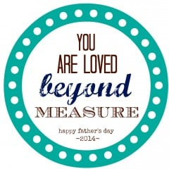 Measuring Tape Father's Day Gift | FREE PRINTABLE | simplykierste.com