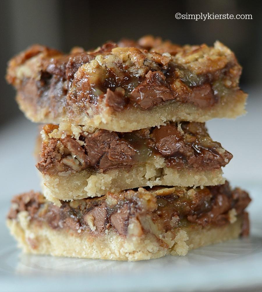 Pecan Pie Bars Recipe — Dishmaps