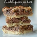 chocolate pecan pie bars | simplykierste.com