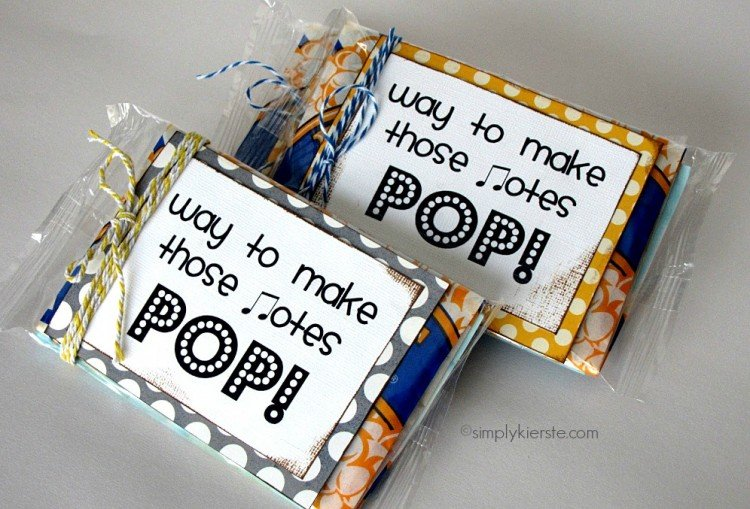 Pop! Music Recital Gift | simplykierste.com