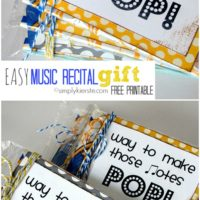 Pop!  An EASY Music Recital Gift!