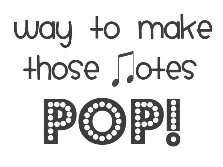 Pop! EASY Music Recital Gift | simplykierste.com
