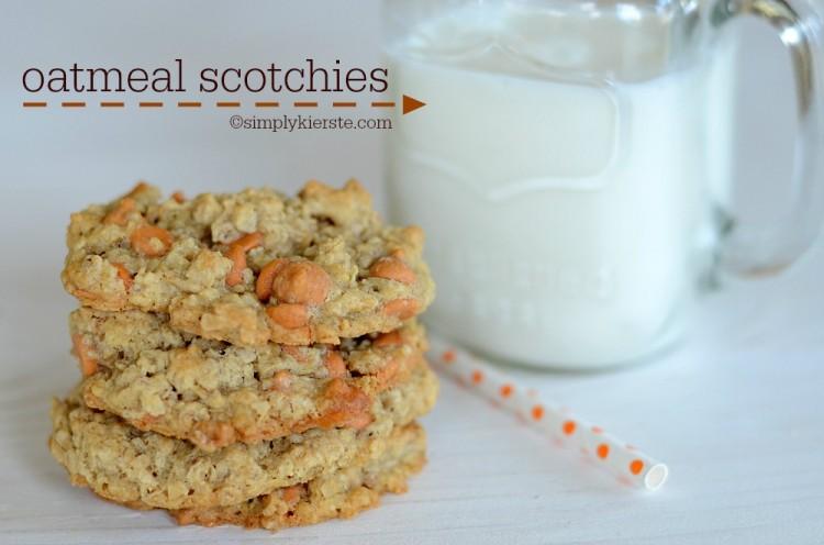 Oatmeal Scotchies | oldsaltfarm.com