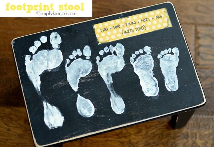 footprint stool | oldsaltfarm.com