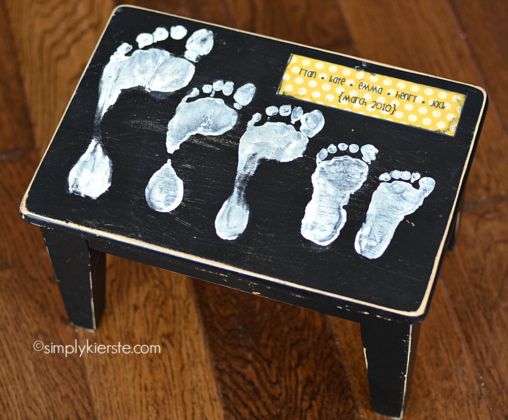 Footprint Stool Simplykierste Com