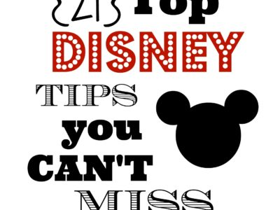 Top Disney Tips | simplykierste.com