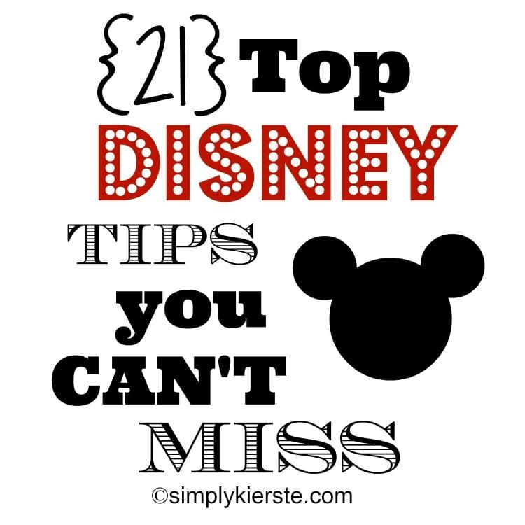Top Disney Tips | oldsaltfarm.com