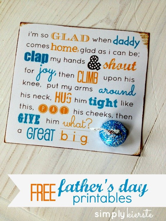 fathers day printable | simplykierste.com