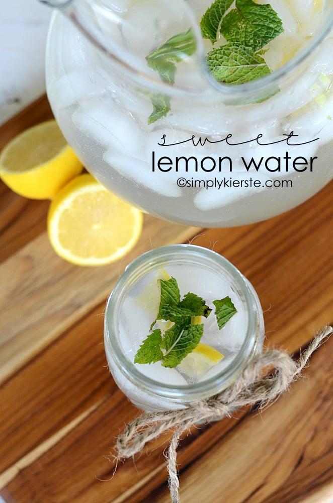 Sweet Lemon Water | oldsaltfarm.com