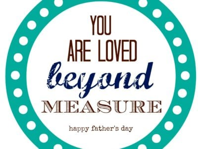 Loved Beyond Measure Father's Day Gift | simplykierste.com