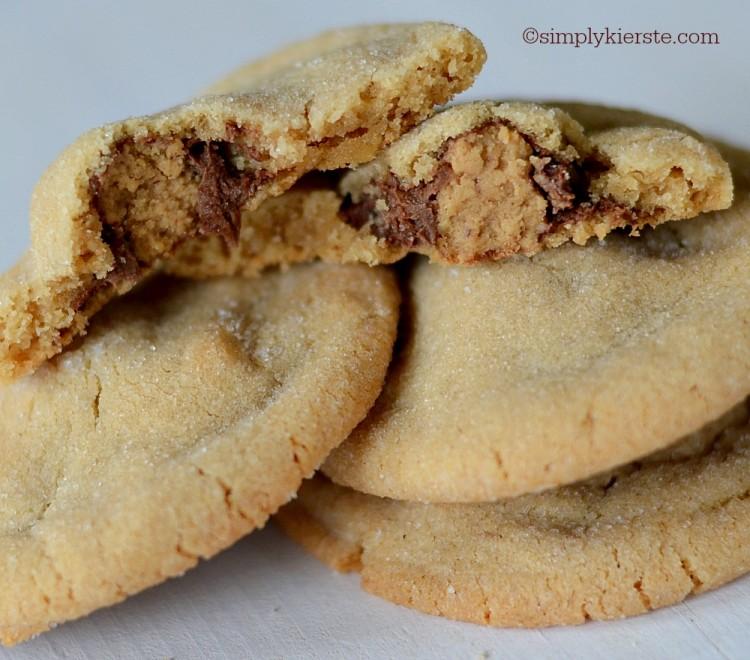 Peanut Butter Surprise Cookies   simplykierste.com