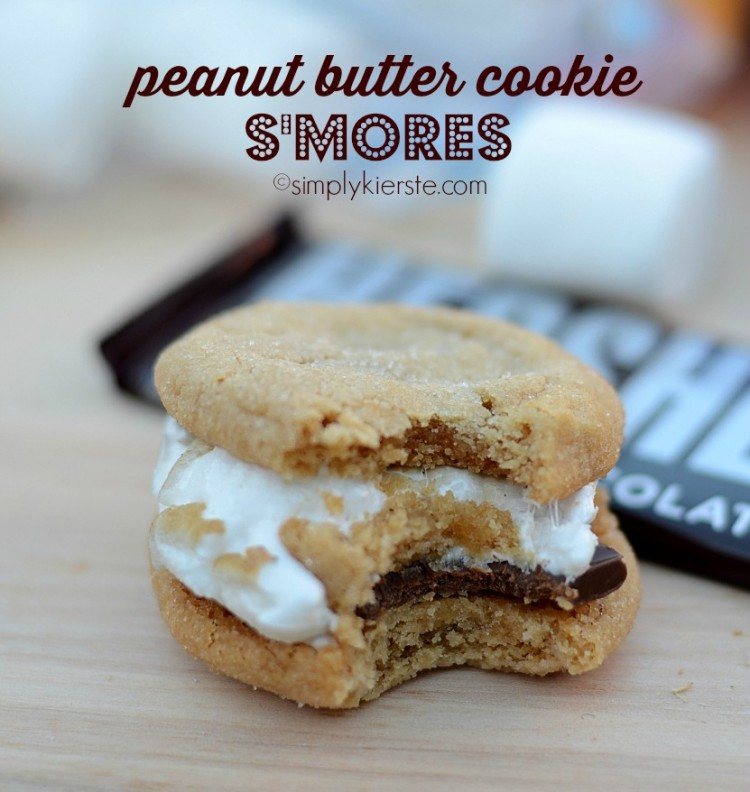 Peanut Butter Cookie S'mores | simplykierste.com