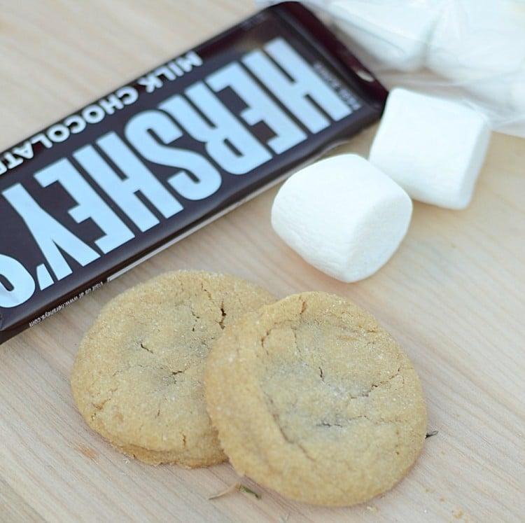 Peanut Butter Cookie S'mores | oldsaltfarm.com