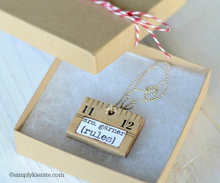 Ruler Necklace | simplykierste.com