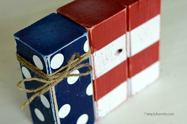 Polka Dot & Striped Flag | simplykierste.com