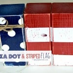 Polka Dot and Striped Flag