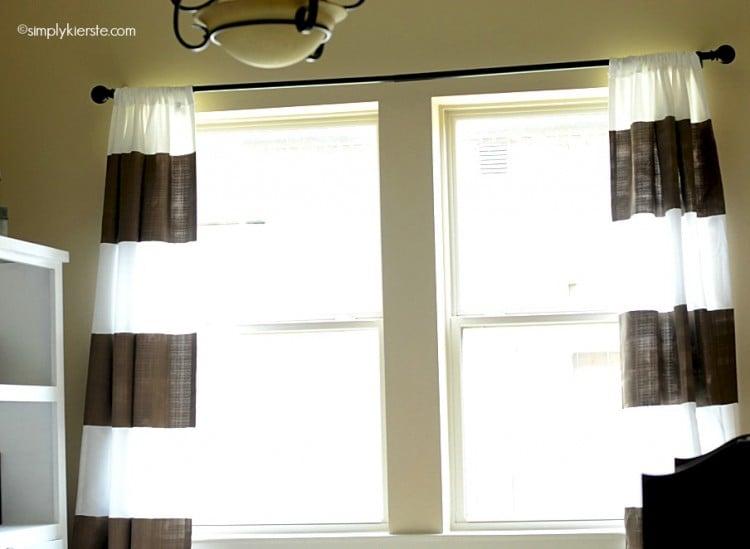 diy painted curtains   simplykierste.com
