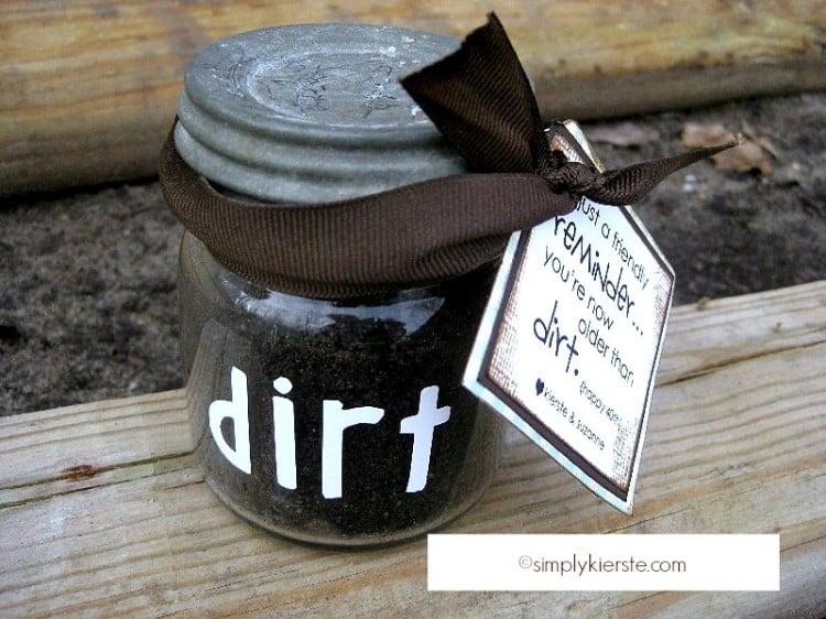 Older than Dirt | Celebrating a Milestone Birthday |oldsaltfarm.com
