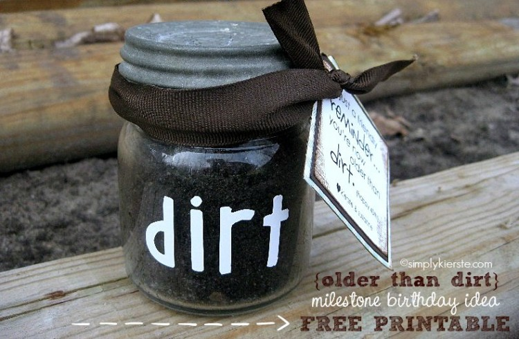 Older than Dirt | simplykierste.com