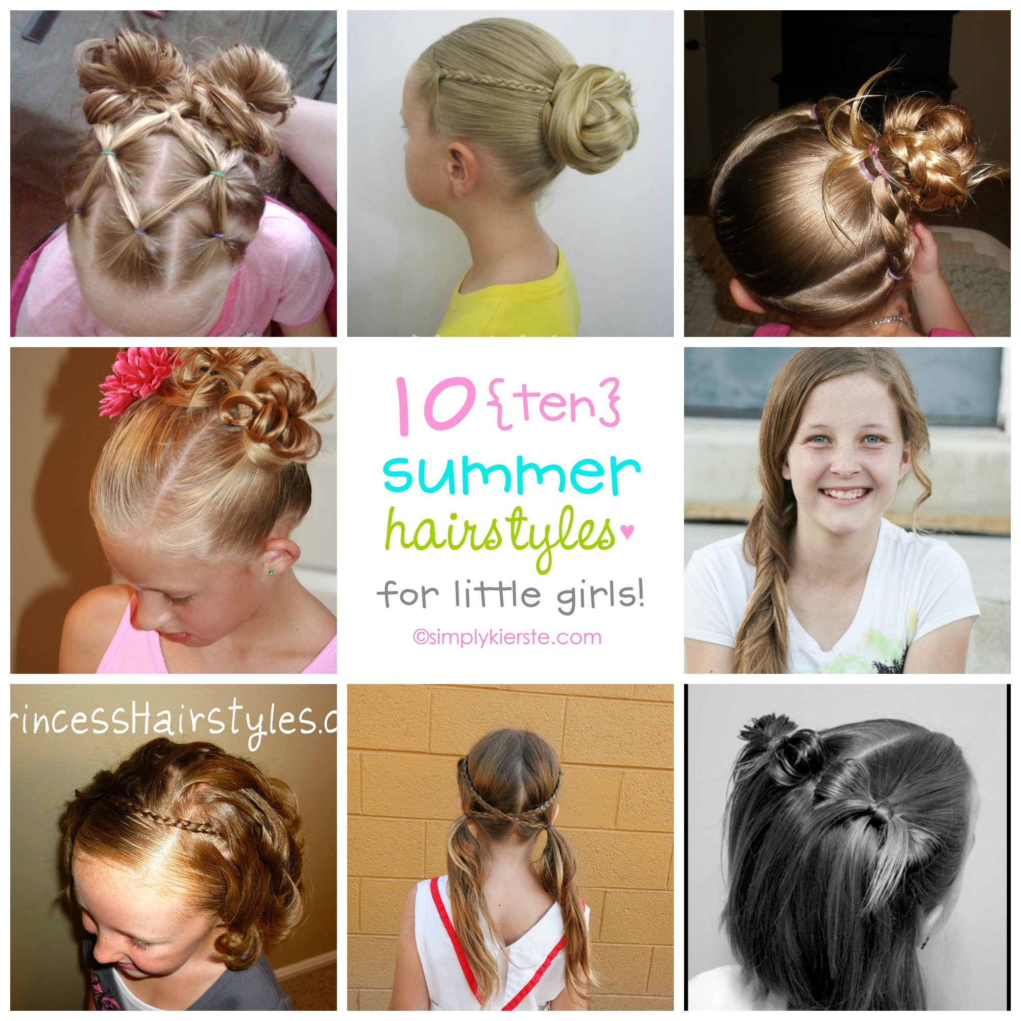 Peachy Fun Hairstyles For Summer Best Hairstyles 2017 Hairstyles For Women Draintrainus