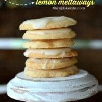 Lemon Meltaways | simplykierste.com