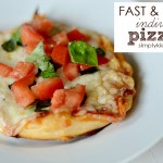 Fast & Easy Individual Pizzas