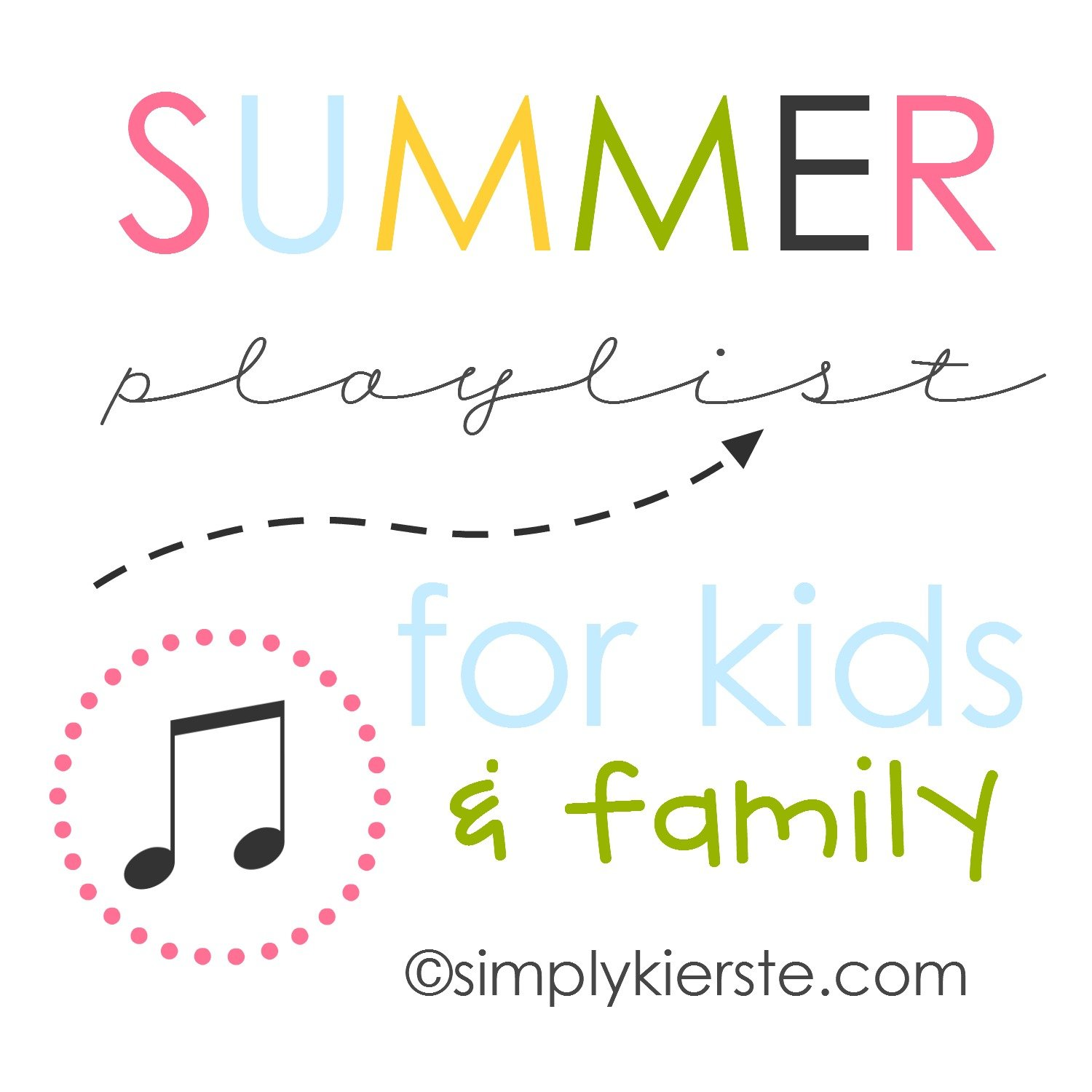 Summer Playlists for Kids & Families