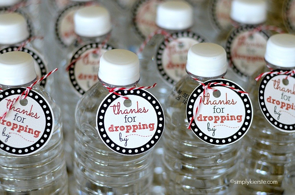 Bottled Water Printable Tags | simplykierste.com