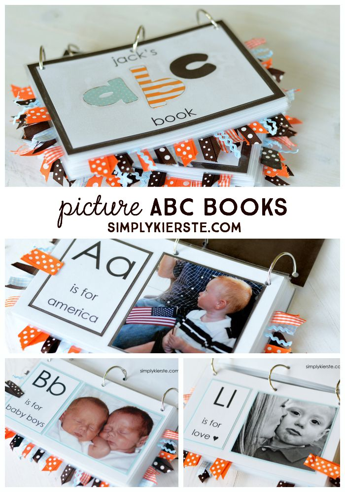 Easy ABC Picture Books | simplykierste.com