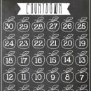 Chalkboard Back to School Countdown | simplykierste.com