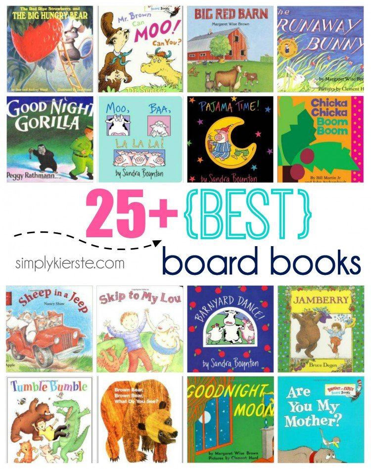 25+ Best Board Books | simplykierste.com