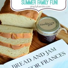 picking berries, making jam, summer family fun | simplykierste.com