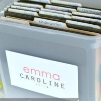 School Papers Storage | FREE PRINTABLES | oldsaltfarm.com