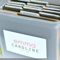 School Paper Storage System