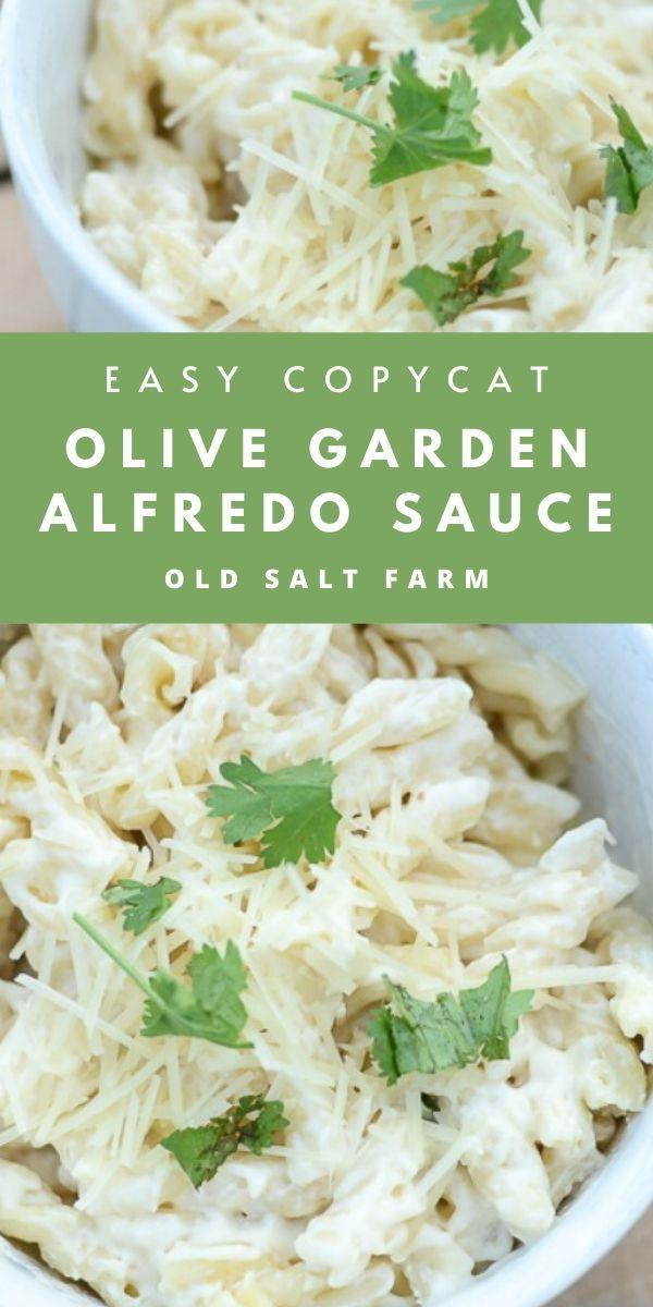 Easy Copycat Olive Garden Alfredo Sauce