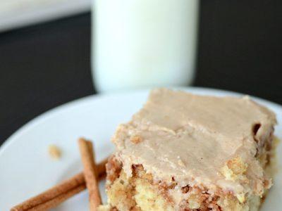 Cinnamon Swirl Cake | simplykierste.com