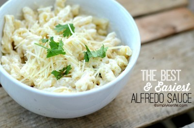 how to make alfredo sauce from scratch without heavy cream