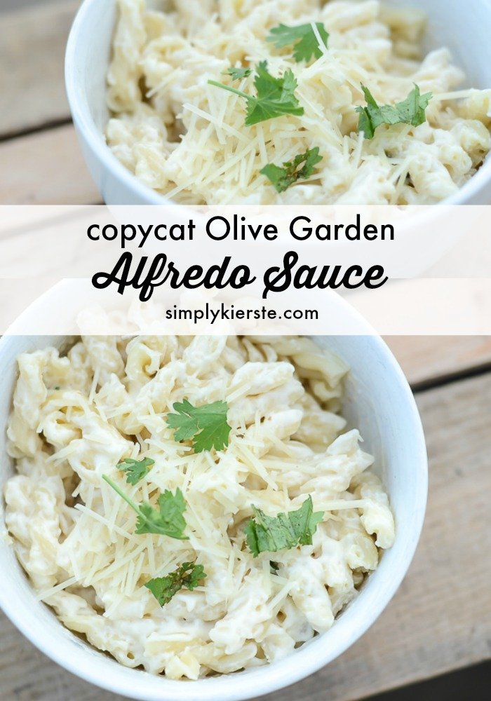 Easy alfredo sauce - Olive garden chicken alfredo sauce recipe ...