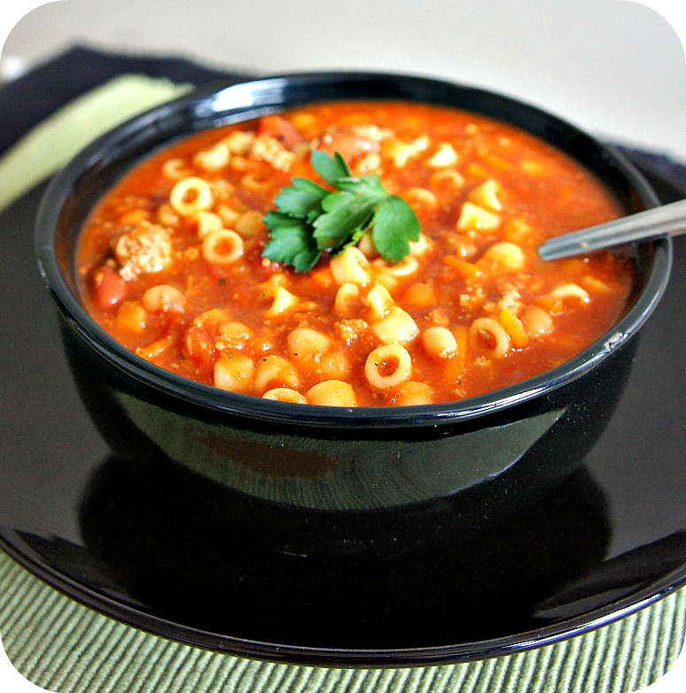 olive garden pasta e fagioli soup 365 days of slow cooking