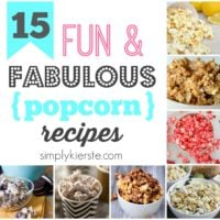 15 Fun & Fabulous Popcorn Recipes | oldsaltfarm.com