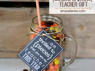 Thrilled to Pieces Teacher Gift | simplykierste.com