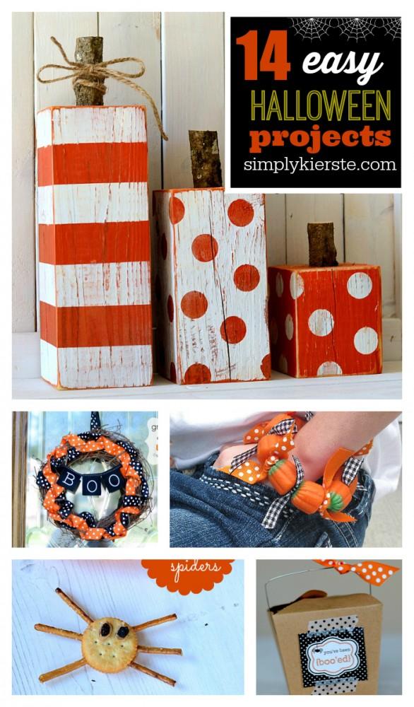 Easy Halloween Projects | simplykierste.com