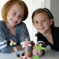 Craft Stick Dolls: An Easy Craft for Kids