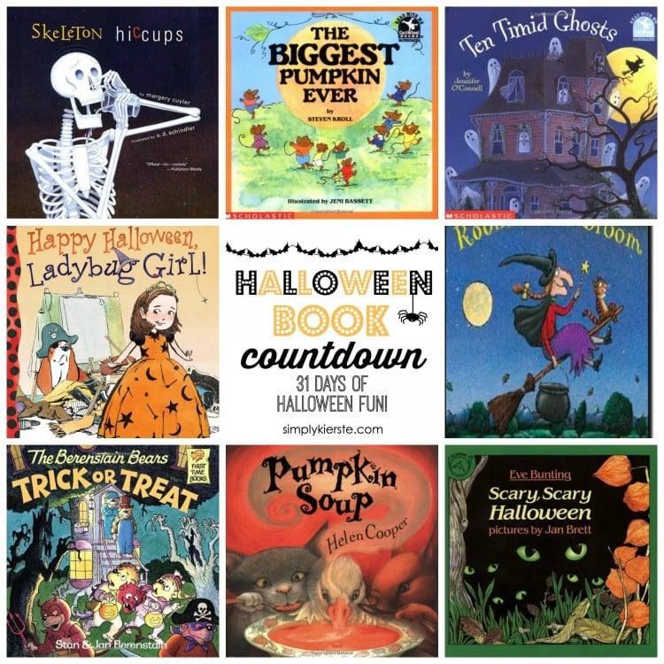 Halloween Book Countdown | oldsaltfarm.com