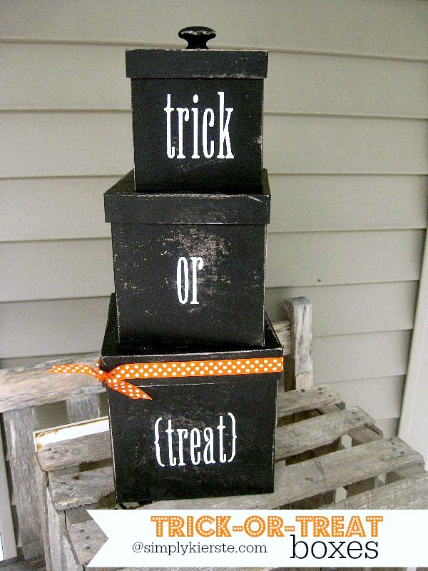 Trick-or-Treat Boxes | simplykierste.com